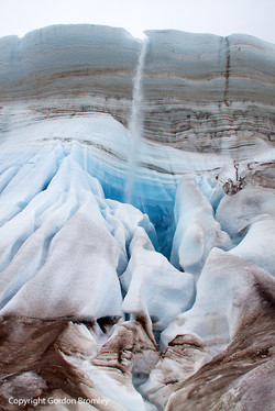 layers & cascades, North Ice Cap