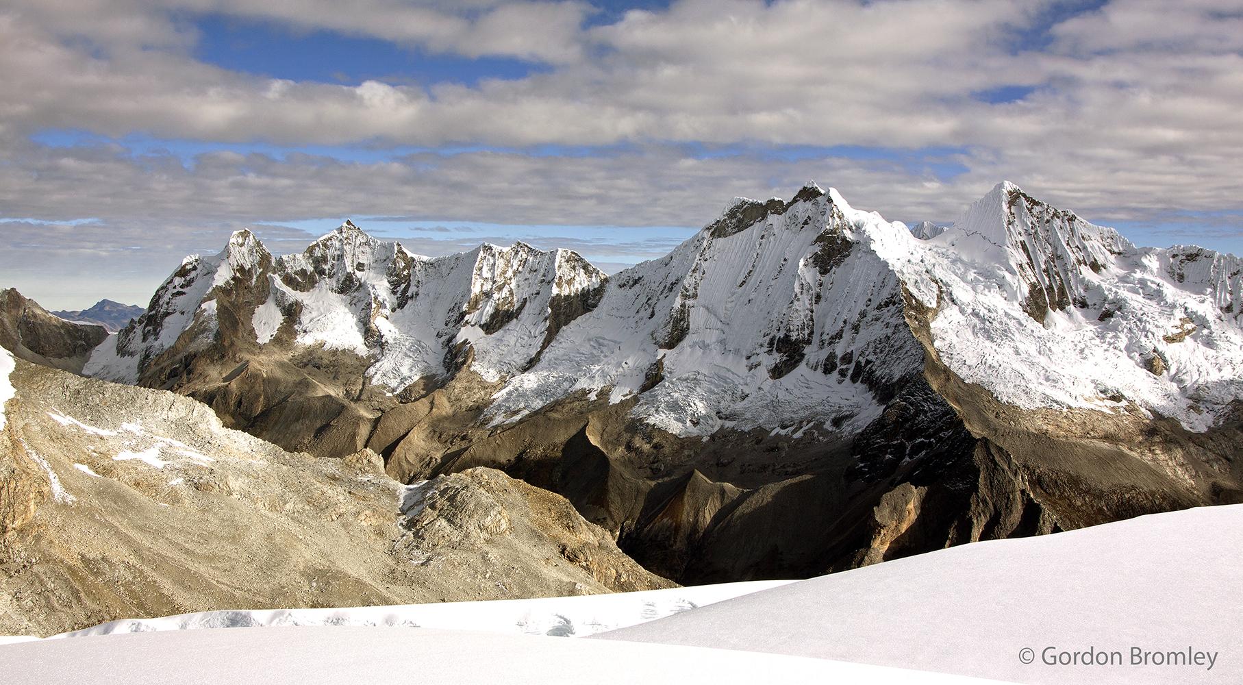 Caraz range from Pisco