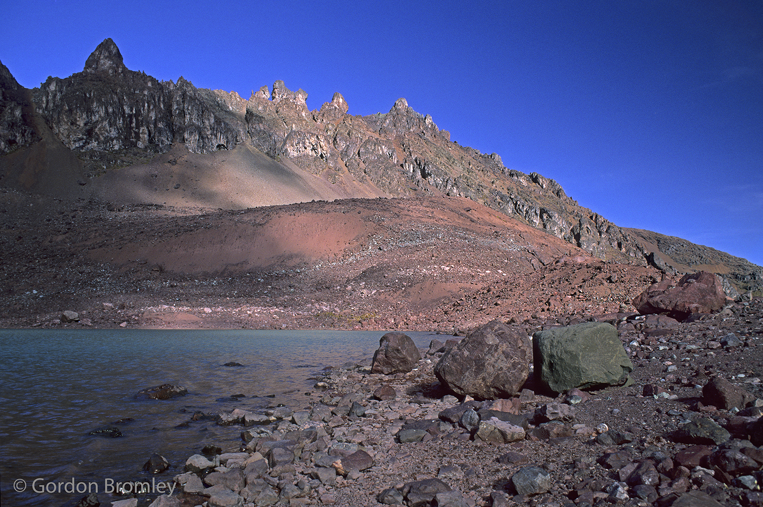 coloured landscape