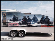Large trailer wrap