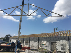 Nursery Progress - Roof going on 2.JPG
