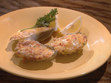 Memorial Day Appetizer: Pimento Cheese Oysters