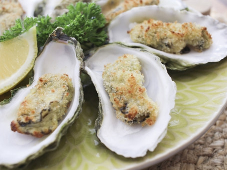 Recipe of the Month: Broiled Oysters