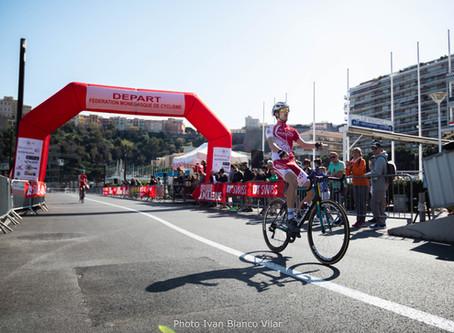 Les couleurs de l'UCM mises à l'honneur au Critérium de Monaco