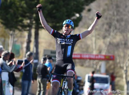 Tour PACA : deux victoires et le maillot jaune pour Rémi Cocusse