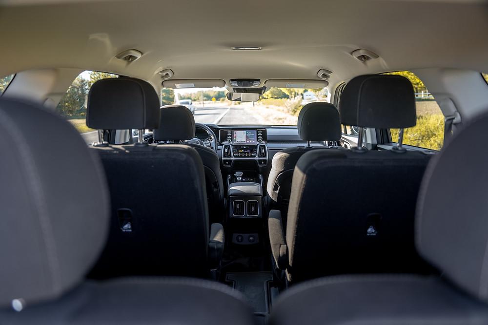 KIA Sorento car seats