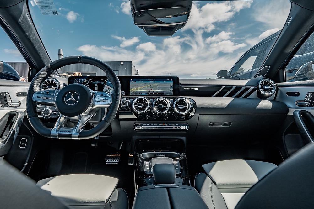 Mercedes-AMG 35 interior