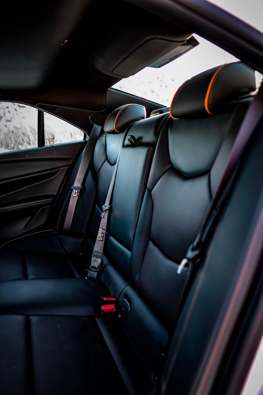 Cadillac CT4-V rear seats