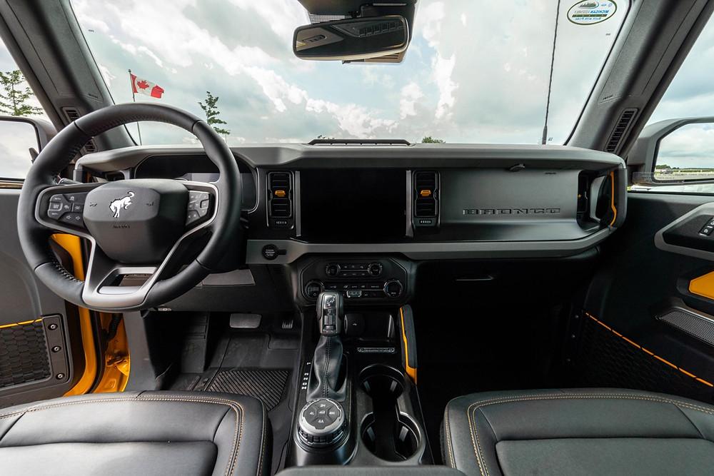 Ford Bronco Steering wheel
