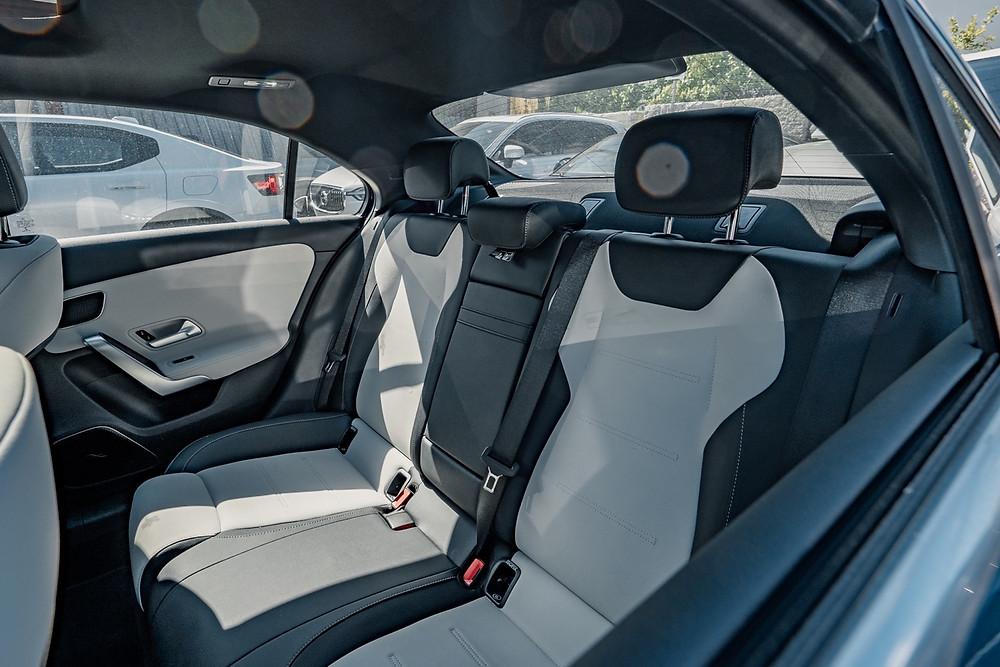 Mercedes-AMG 35 rear-seats