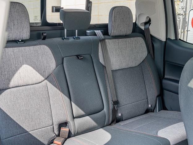 Ford Maverick back seats