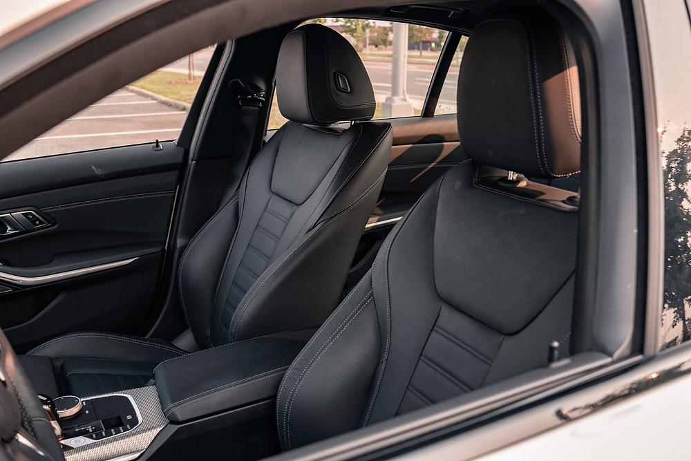 BMW 330e xDrive interior