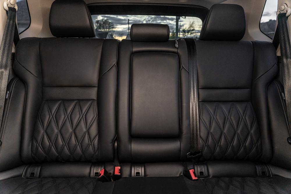 Nissan Rogue back seats