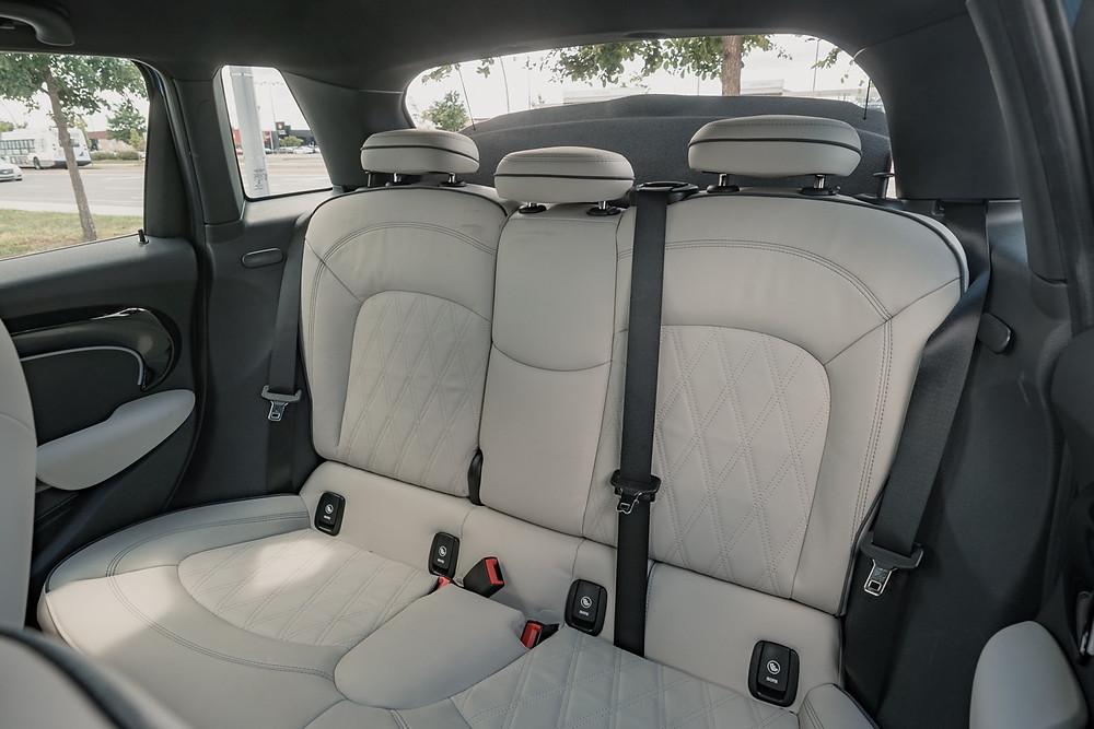 MINI Cooper S 5-Door back seats