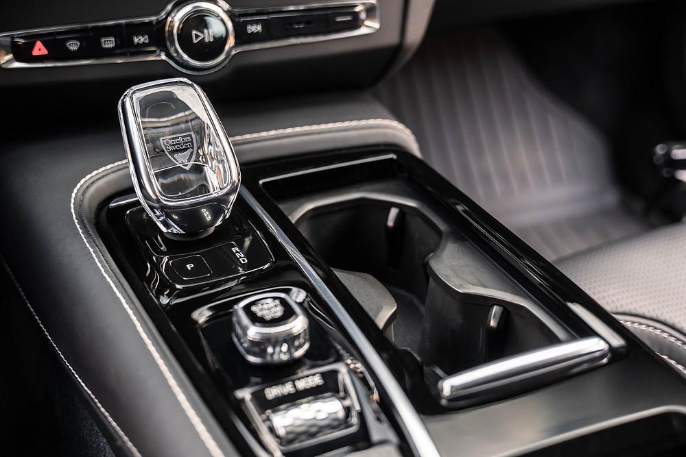Volvo S90 center console