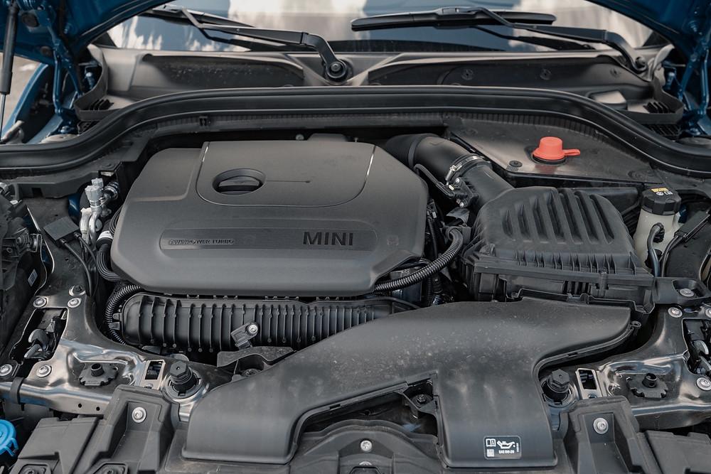 MINI Cooper S 5-Door engine bay