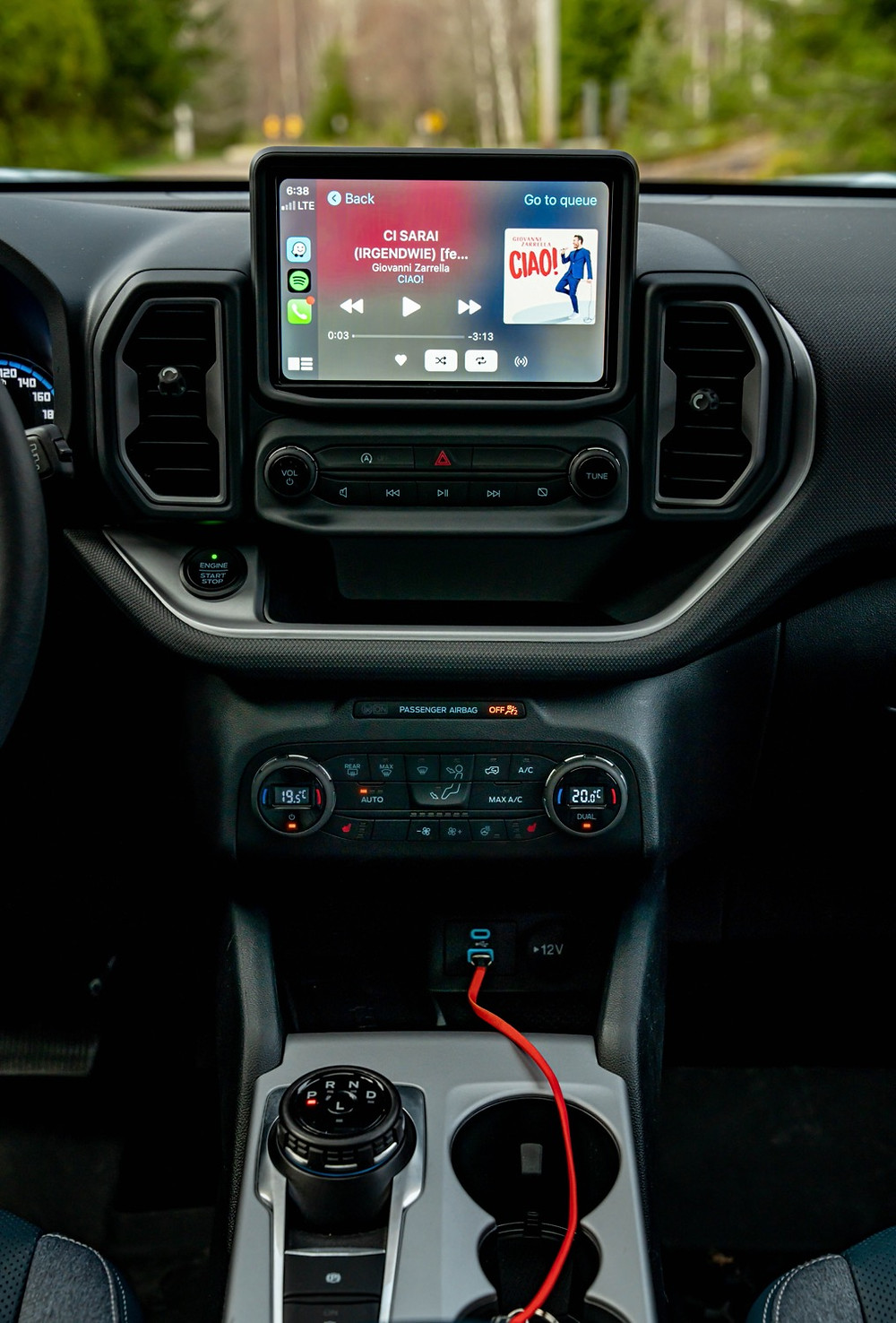 Infotainment Ford Bronco Sport