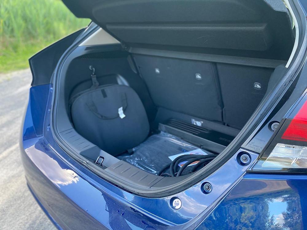 2020 Nissan Leaf trunk