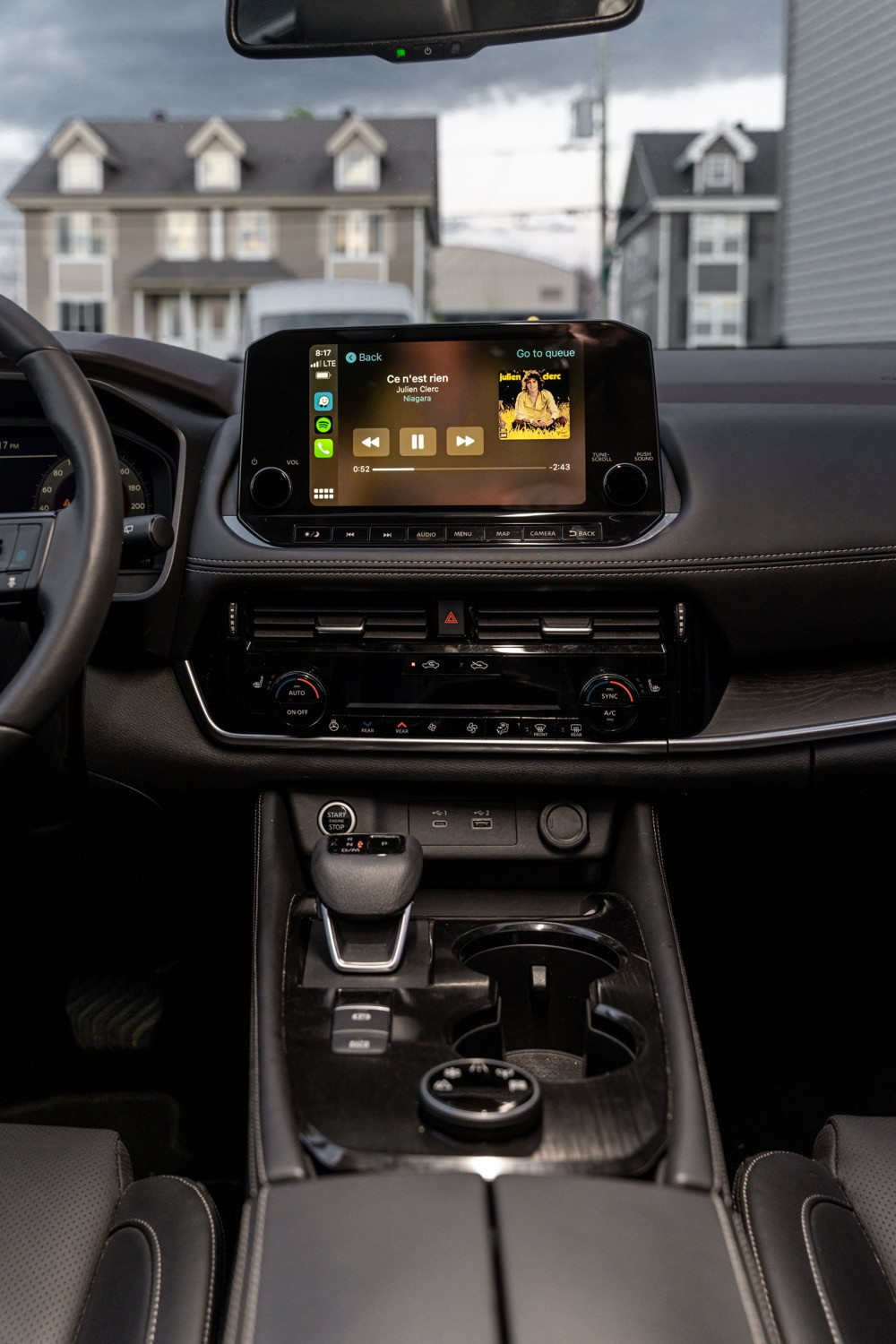 Nissan Rogue Wireless charger
