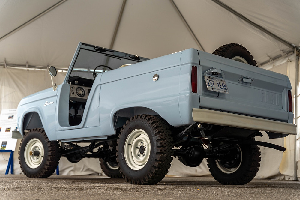 Ford Bronco 1st Year