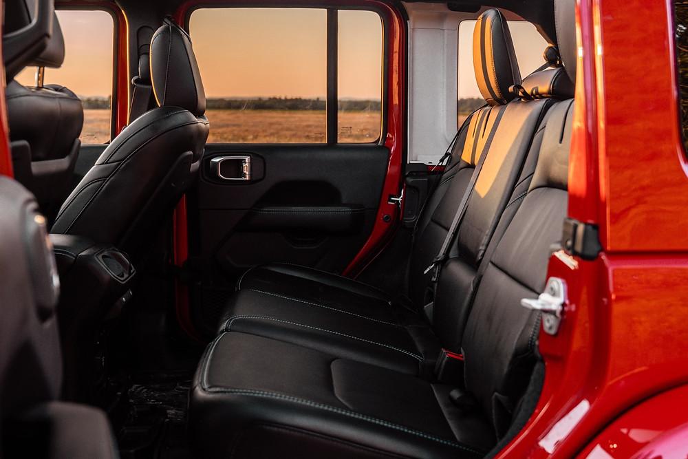 rear seats Jeep Wrangler 4xe