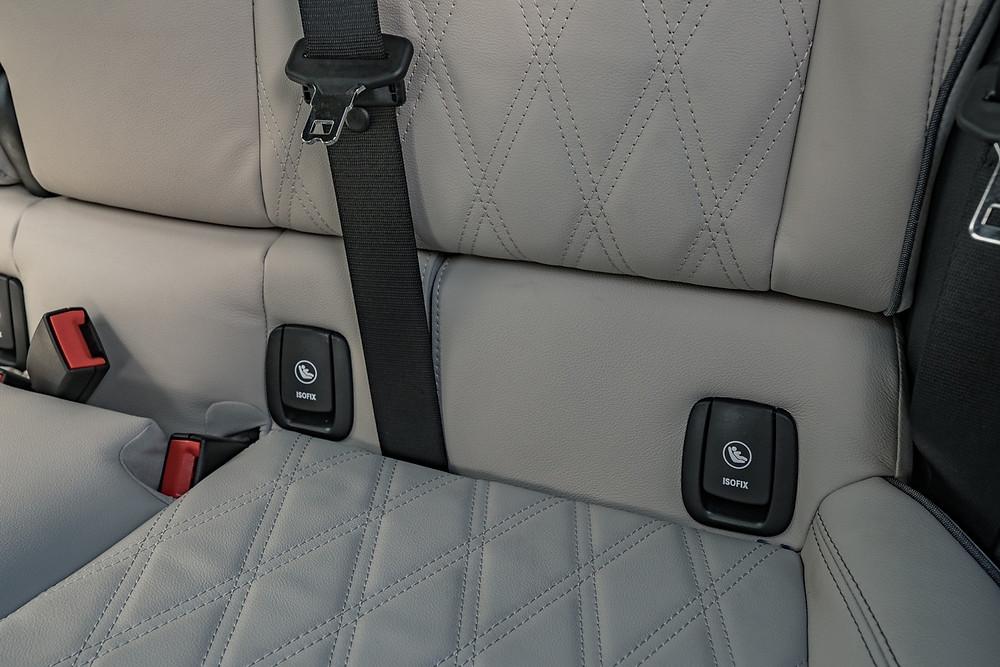 ISOFIX ports MINI Cooper 5-Door