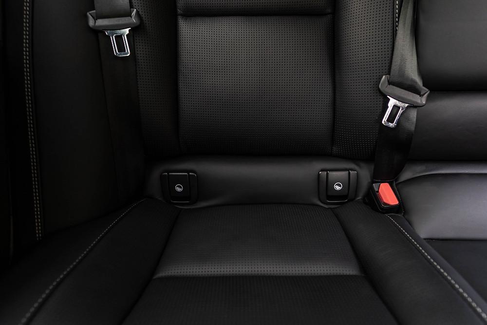 Volvo ISOFIX ports car seats