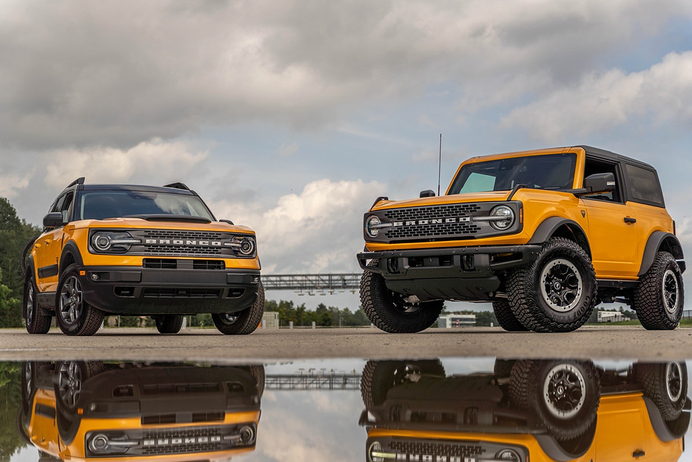 Ford Bronco Sport and Ford Bronco
