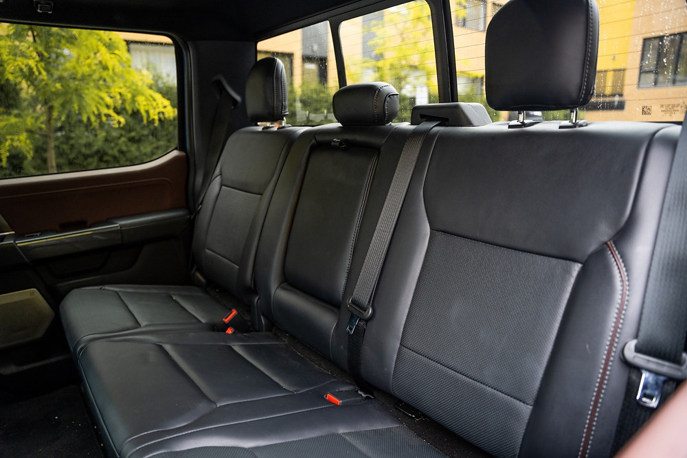 Ford F150 back row