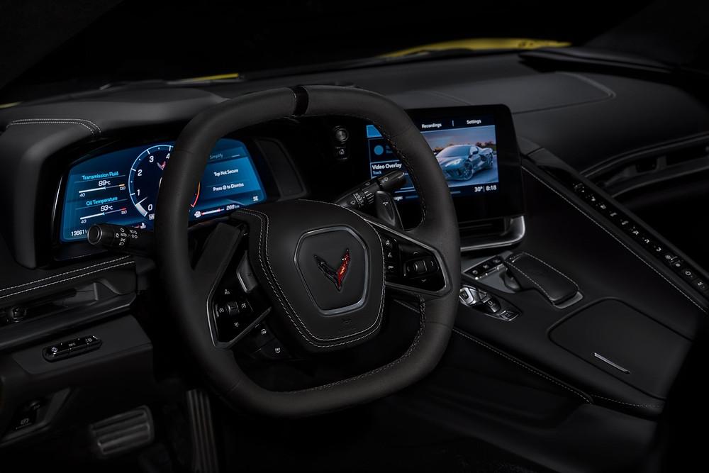 Corvette dash