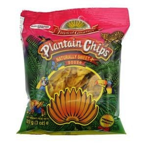 CHIP0004 TROPICAL GOURMET CHIPS AU PLANTAIN SWEET 85G