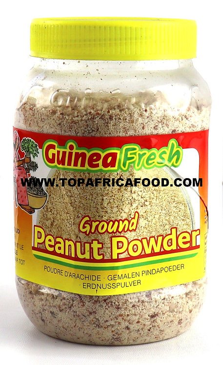 FARI0289 GUINEA FRESH GROUND PEANUT POWDER ARACHIDE MOULUE 400G