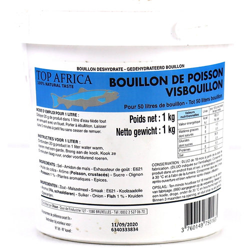 BOUI0024 TOP AFRICA BOUILLON POISSON 1KG