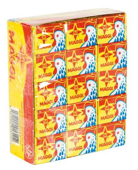 BOUI0015 MAGGI CUBES CHICKEN 60X10G