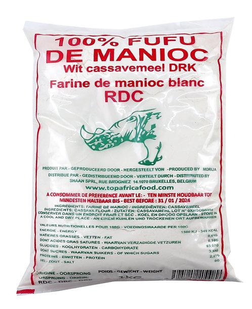FARI0242 TOP AFRICA FUFU MANIOC RDC 1KG