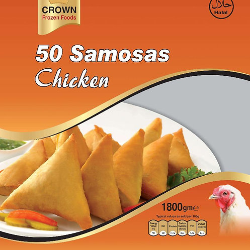 FARI0150 CROWN SAMOSA CHICKEN 6X50PC