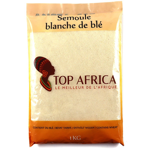 FARI0221 TOP AFRICA SEMOULE BLANCHE DE BLE 1KG