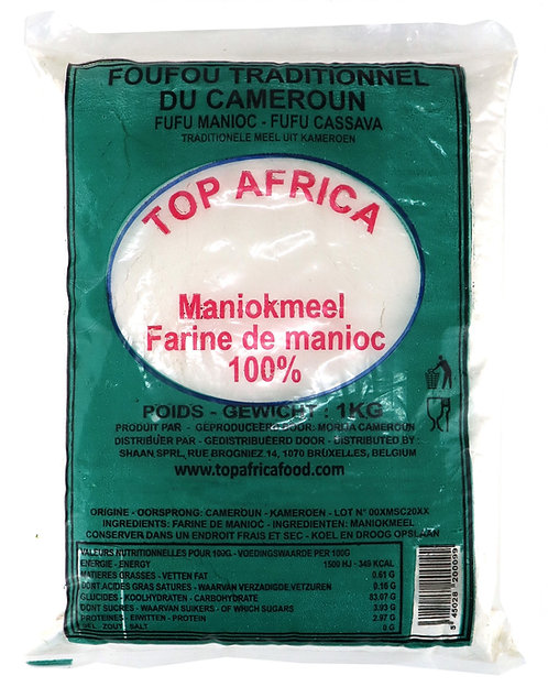 FARI0202 TOP AFRICA FUFU FOUFOU TRADITIONNEL CAMEROUN 1KG