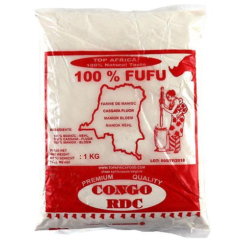FARI0195 TOP AFRICA FUFU MANIOC CONGO RDC 1KG