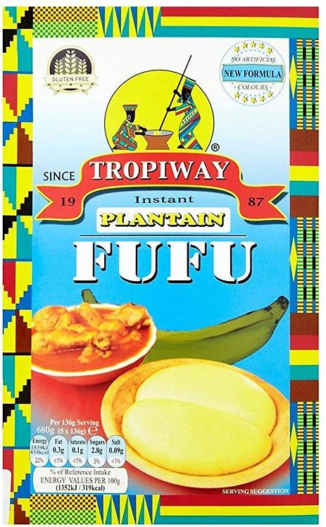 FARI0116 TROPIWAY FUFU PLANTAIN - FARINE DE PLANTAIN 680G