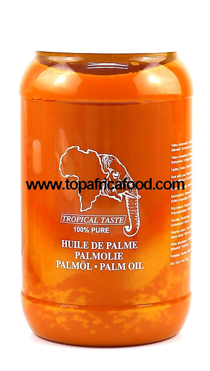 HUIL0015 TROPICAL TASTE PALM OIL 2L