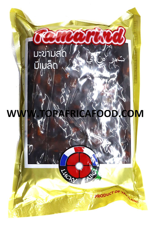 EPIC0136 LUCKY LABEL TAMARIND BLOCK WITH SEEDS 400G