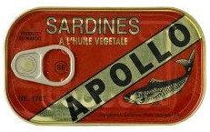 PCON0032 APOLLO SARDINES A L'HUILE 125G