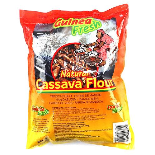 LEFR0177 GUINEA FRESH CASSAVA FLOUR FUFU MANIOC 800G