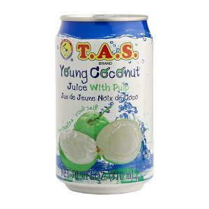 BOIS0016 TAS JUS DE COCO COCONUT JUICE 310ML
