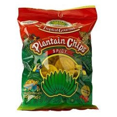 CHIP0006 TROPICAL GOURMET CHIPS AU PLANTAIN SPICY 85G