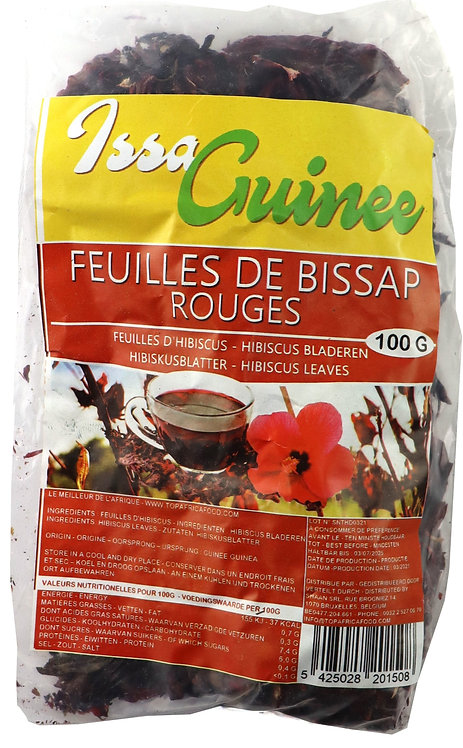 LEFR0212 ISSA GUINEE BISSAP ROUGE 100G