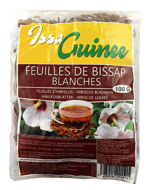 LEFR0213 ISSA GUINEE BISSAP BLANC 100G
