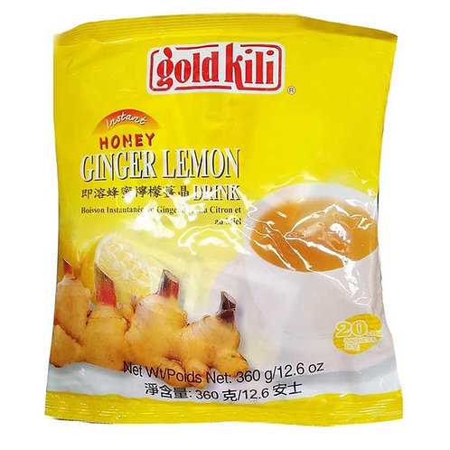 THES0035 GOLD KILI GINGER HONEY LEMON HONEY TEA (20X18G) 360G