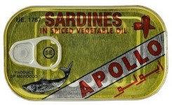 PCON0033 APOLLO SARDINES A L'HUILE EPICEE SPICY 125G